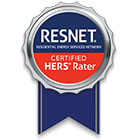 Resnet Cerified Hers Rater Badge Logo